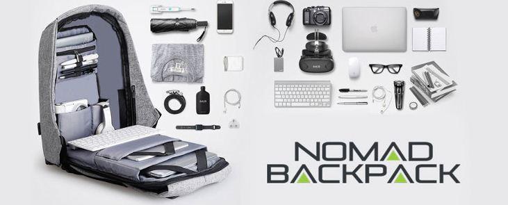 Nomad backpack – opiniones – negativas - reales funciona – foro – España - Barcelona - que es