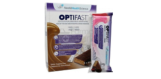 Optifast 6 Barritas Sabor Capuchino