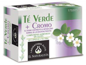 El Naturalista Té Verde + Cromo - opiniones - precio