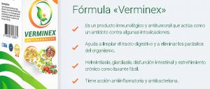 Como Verminex funciona? Para que sirve?
